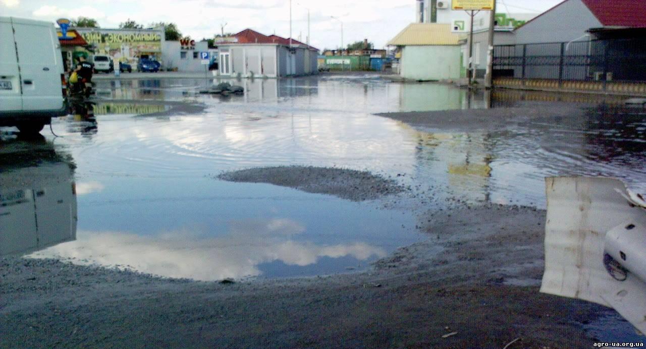 Потоп на рынке Копани